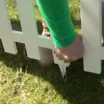 picket fence lawn edging