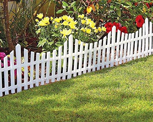 Flexible Plastic Garden Border Fence Lawn Grass Edge Path